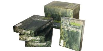 Paquete de papel fotocopiadora venus green A3
