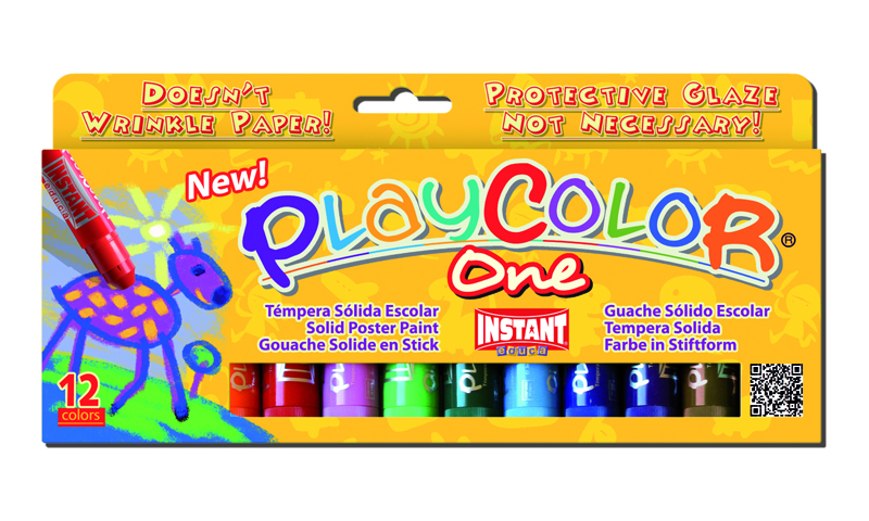 PLAYCOLOR KIDS 12 COLORES 10GR
