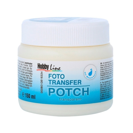 GEL ADHESIVO FOTO TRANSFER POTCH 150 ML.