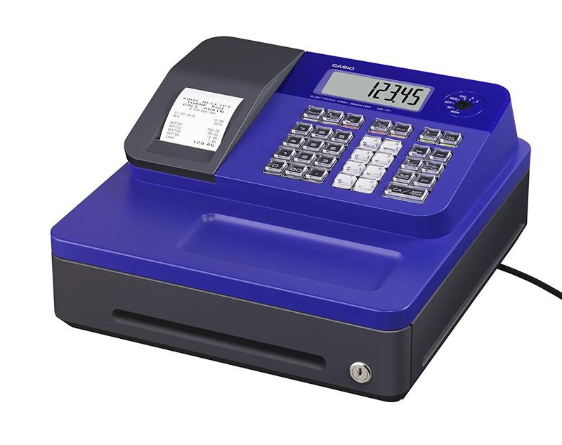 Caja Registradora CASIO SEG1- Color Azul
