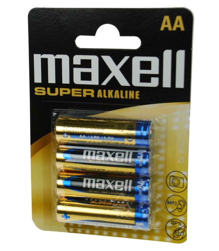 B/4 PILA MAXELL AA SUPER ALCALINA 1,5V LR06 XL