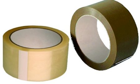 Cinta adhesiva de embalar Disnak 50mm x 66m blanca