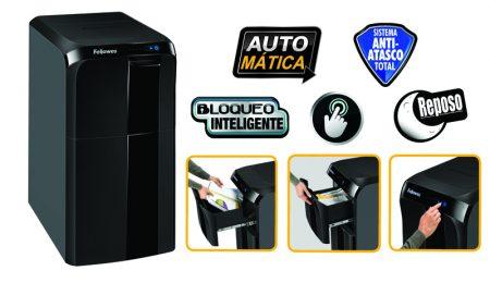 Destructora AutoMax™ 300C, corte en partículas