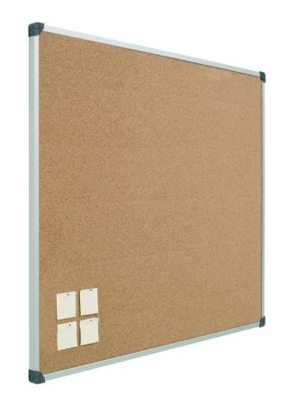 Tablero de corcho con marco de aluminio de 100 x 200 cm Planning Sisplamo
