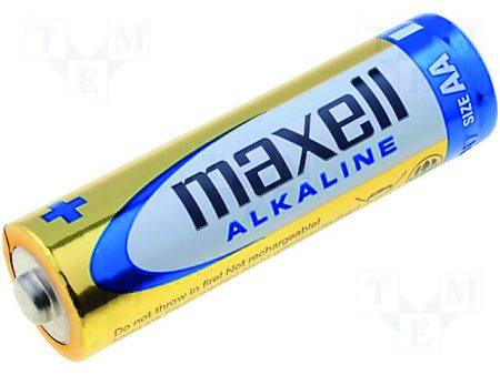 Blíster de 1 pila alcalina LR23A de 12V Maxell