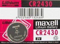 Blíster de 1 pila de botón CR2430 de 3V Maxell