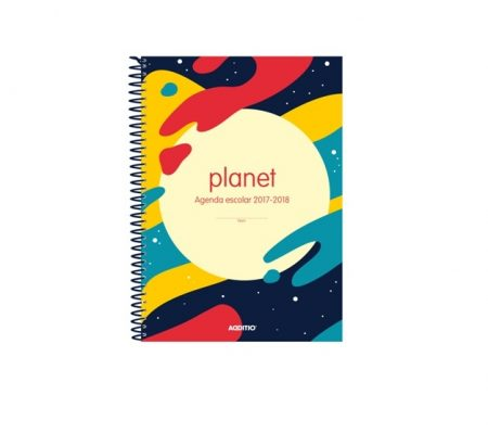 Agenda escolar eskola-agenda planet Additio
