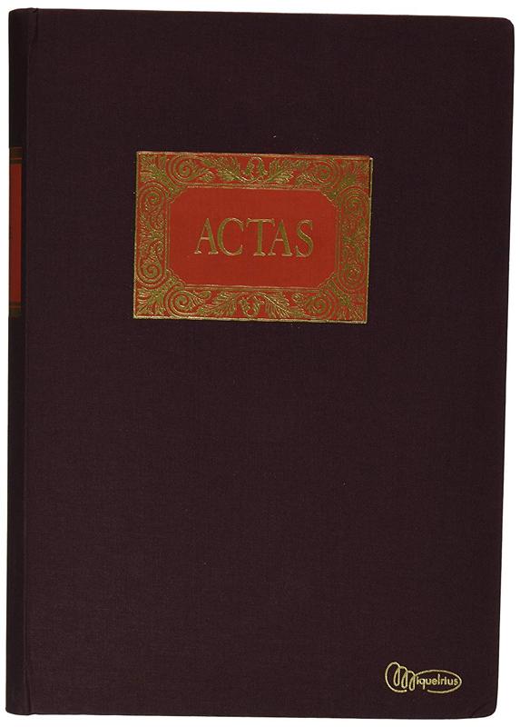 LIBRO MIQUEL RIUS  Fº ACTAS 4032 200 H.