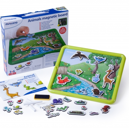 ANIMALS MAGNETIC BOARD 97934