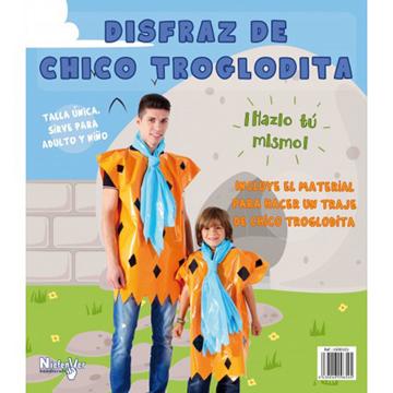 DISFRAZ DE CHICO TROGLODITA