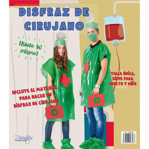 DISFRAZ DE CIRUJANO/A