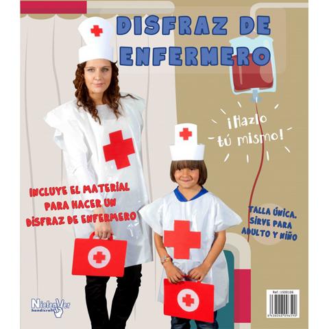DISFRAZ DE DE ENFERMERO/A