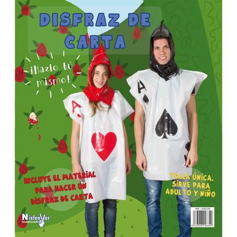 DISFRAZ DE CARTA
