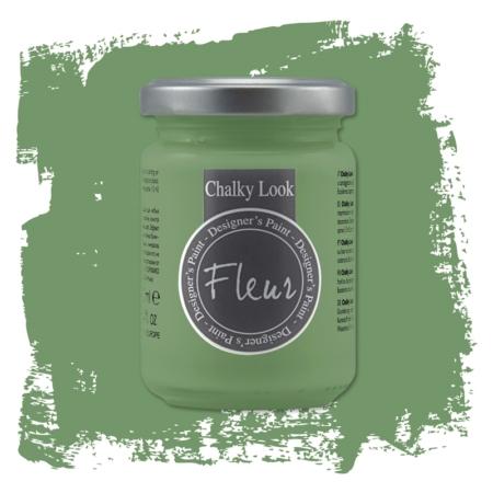 Pintura chalky look de Fleur 130 ml Welcome Green