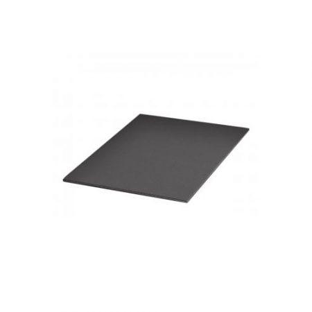 Plancha de cartón pluma negro A4 con grosor de 3 mm