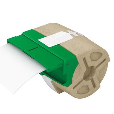 Cartucho de etiqueta continua blanca de plástico de 88 mm x 10 m para Leitz Icon