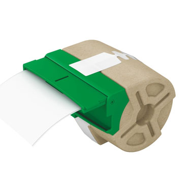 Cartucho de etiqueta precortada blanca de papel de 28 mm x 88 mm para Leitz Icon