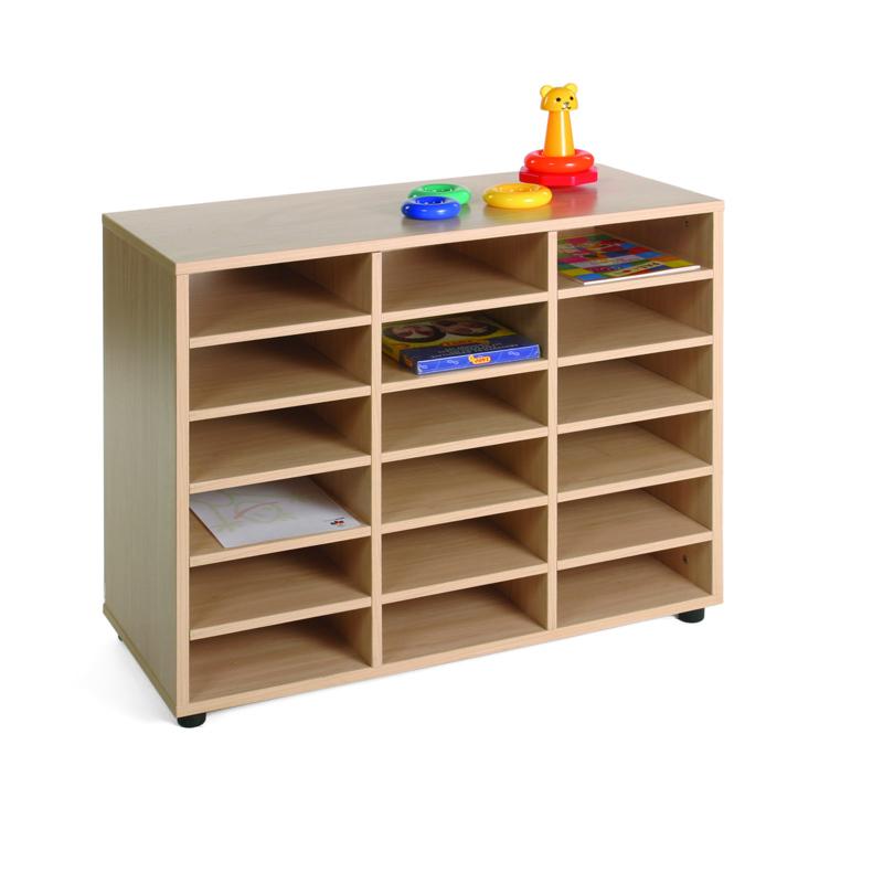 Mueble de 18 casillas