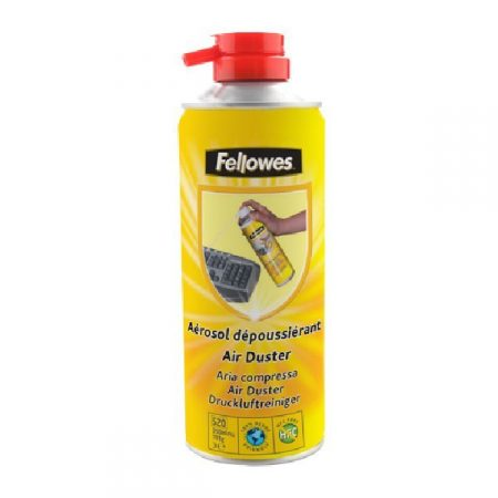 SPRAY DE LIMPIEZA DE AIRE A PRESIÓN SIN HFC FELLOWES 350 ML.