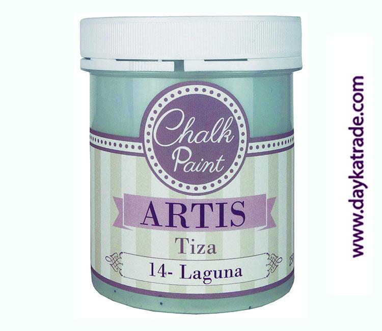 PINTURA TIZA CHALK PAINT ARTIS  250 ML LAGUNA