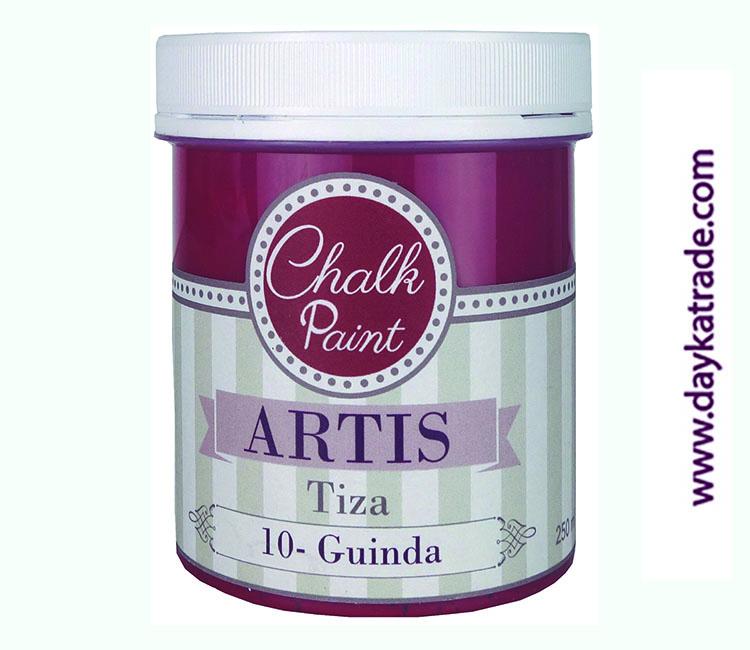 PINTURA TIZA CHALK PAINT ARTIS  250 ML GUINDA