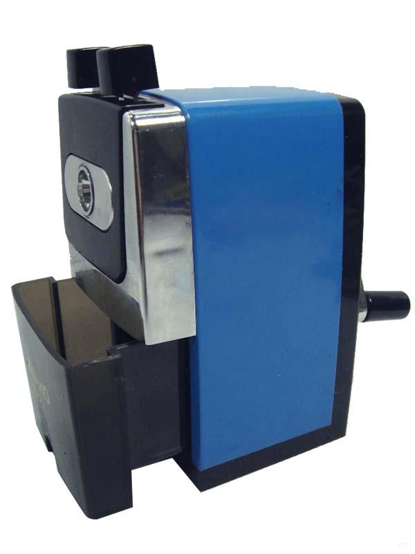 Afilalápices de sobremesa manual Disnak azul