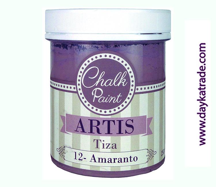 PINTURA TIZA CHALK PAINT ARTIS  250 ML AMARANTO