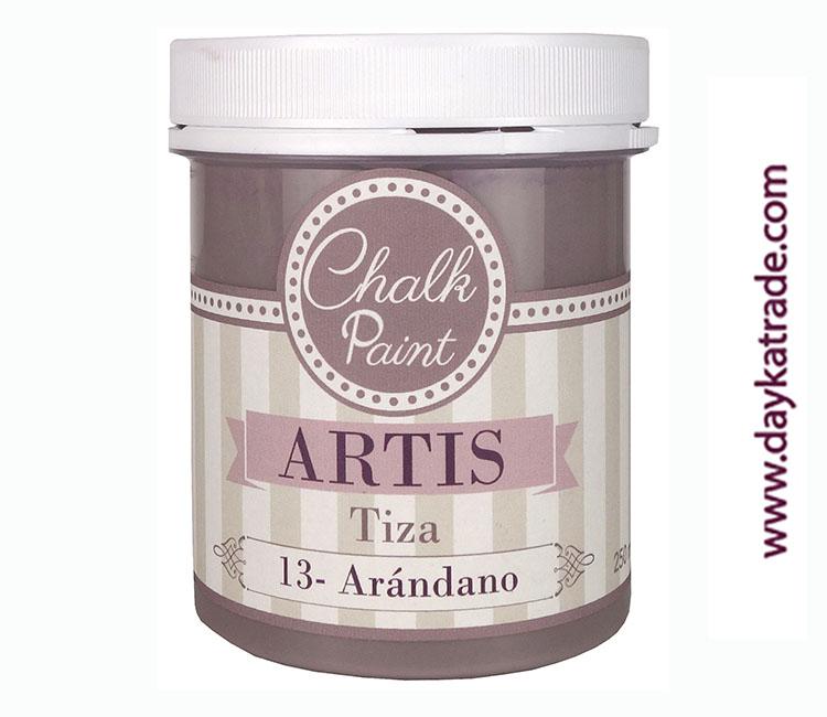 PINTURA TIZA CHALK PAINT ARTIS  250 ML ARANDANO
