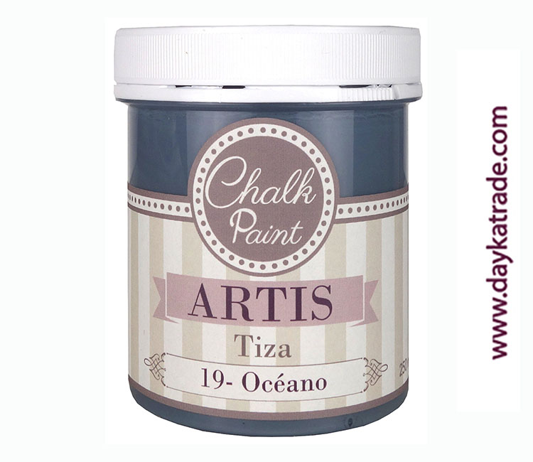 PINTURA TIZA CHALK PAINT ARTIS  250 ML OCEANO