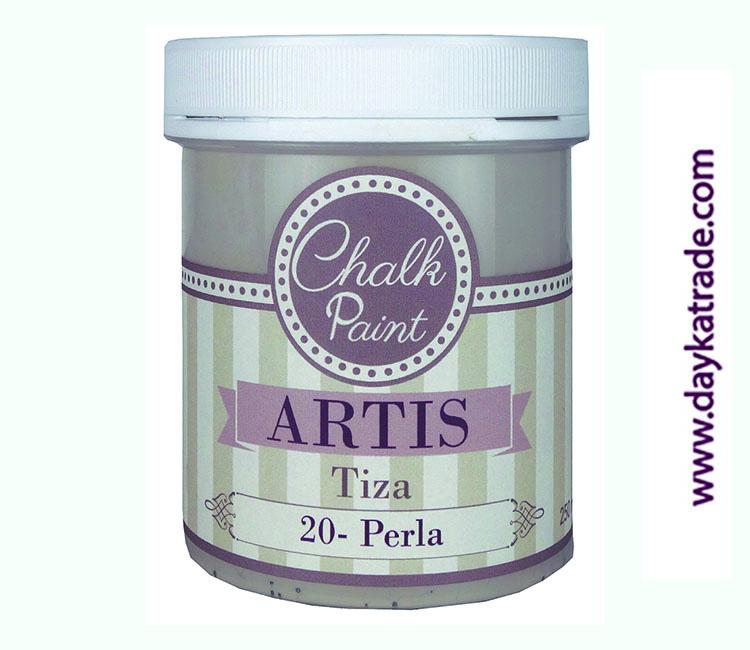 PINTURA TIZA CHALK PAINT ARTIS  250 ML PERLA