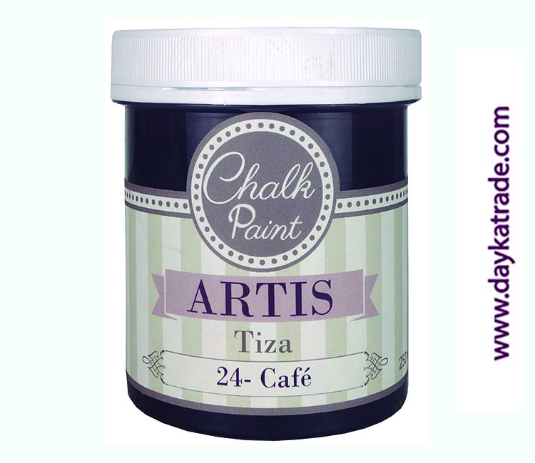 PINTURA TIZA CHALK PAINT ARTIS  250 ML CAFÉ
