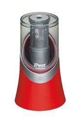 Afilalápices eléctrico con depósito Westcott rojo parchís