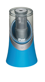 Afilalápices eléctrico con depósito Westcott azul parchís