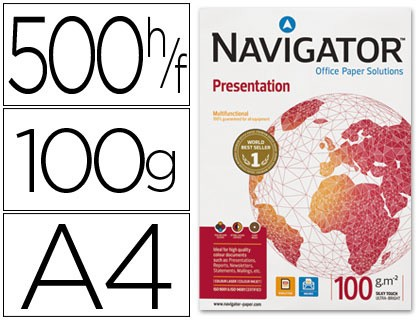 Papel fotocopia Din-A4 navigator 100gr 500h