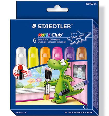 Estuche de 12 ceras pastel colores Staedtler