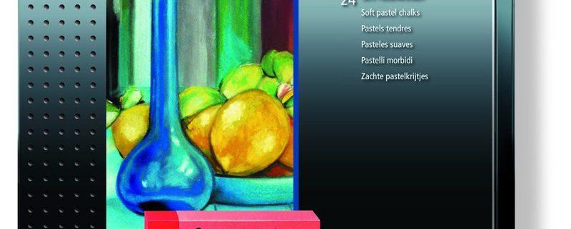 Estuche de 24 ceras pastel colores Staedtler