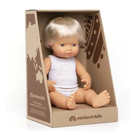 BABY EUROPEO NIÑO 38CM/ESTUCHE 31151