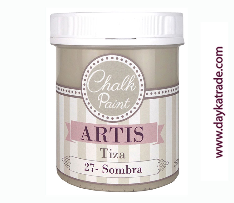PINTURA TIZA CHALK PAINT ARTIS  250 ML SOMBRA