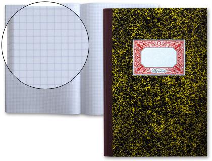 Libro Cartone 4º 100 Hojas CUADRICULADO NATURAL
