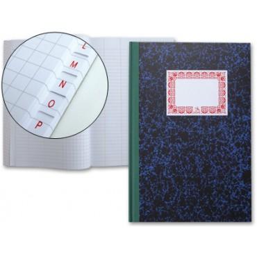 Libro Cartone 4º 100 Hojas INDICE DIARIO