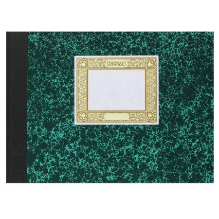 Libro Cartone 4º 100 hojas CUADRICULADO APAISAD
