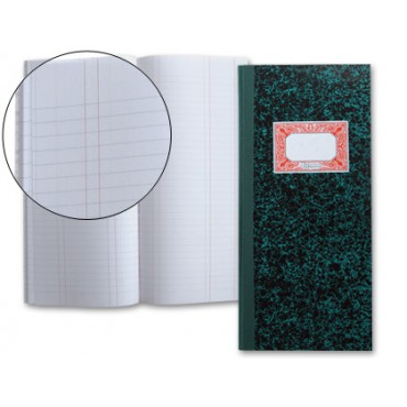 Libro Cartone 2/3  80 hojas diario sencillo