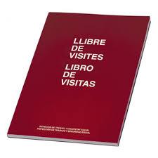 LIBRO DE VISITAS MIQUEL RIUS CASTELLANO
