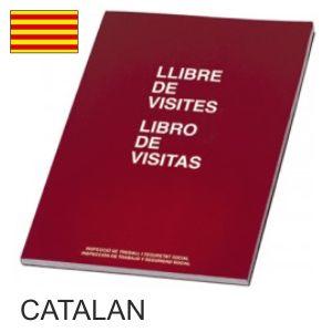 LIBRO DE VISITAS MIQUEL RIUS CATALÁN/CASTELLANO