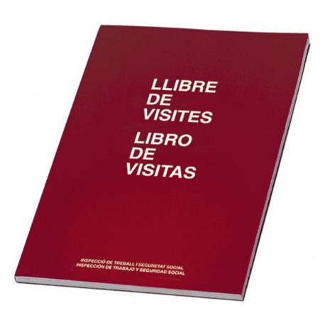 LIBRO DE VISITAS MIQUEL RIUS GALLEGO/CASTELLANO