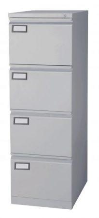Archivador metálico gris A.2000 4 cajones