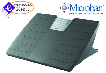 REPOSAPIES AJUSTABLE  FELLOWES OFFICE SUITES CON MICROBAN FELLOWES+