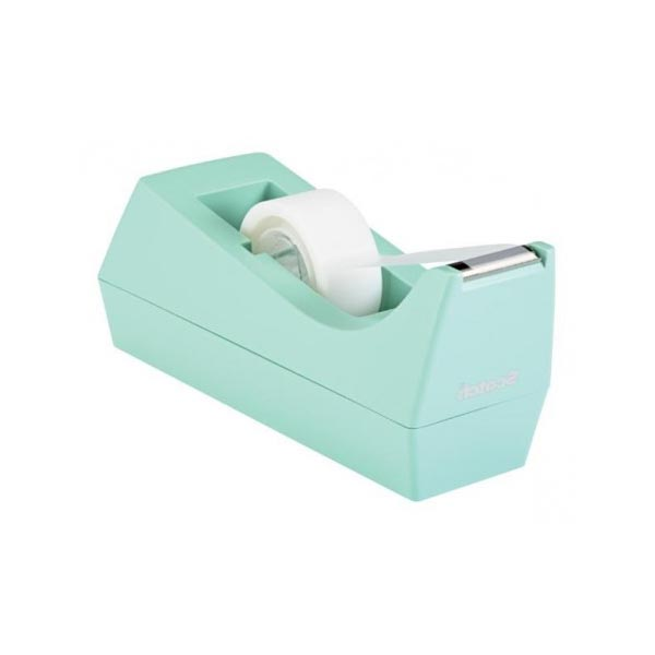 Dispensador Scotch C38 menta con cinta Magic 19mm x 8,89m