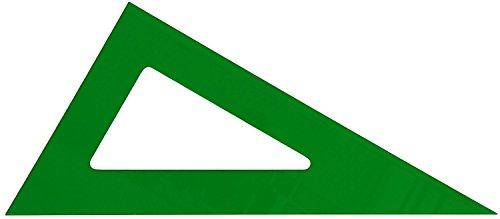 Cartabon verde sin graduar 30 cm 101-30cv