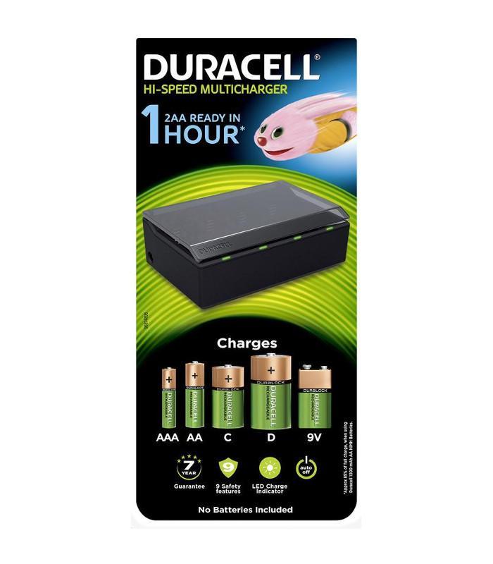 Cargador de pilas múltiple Duracell